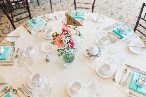 Our beautiful table set-up