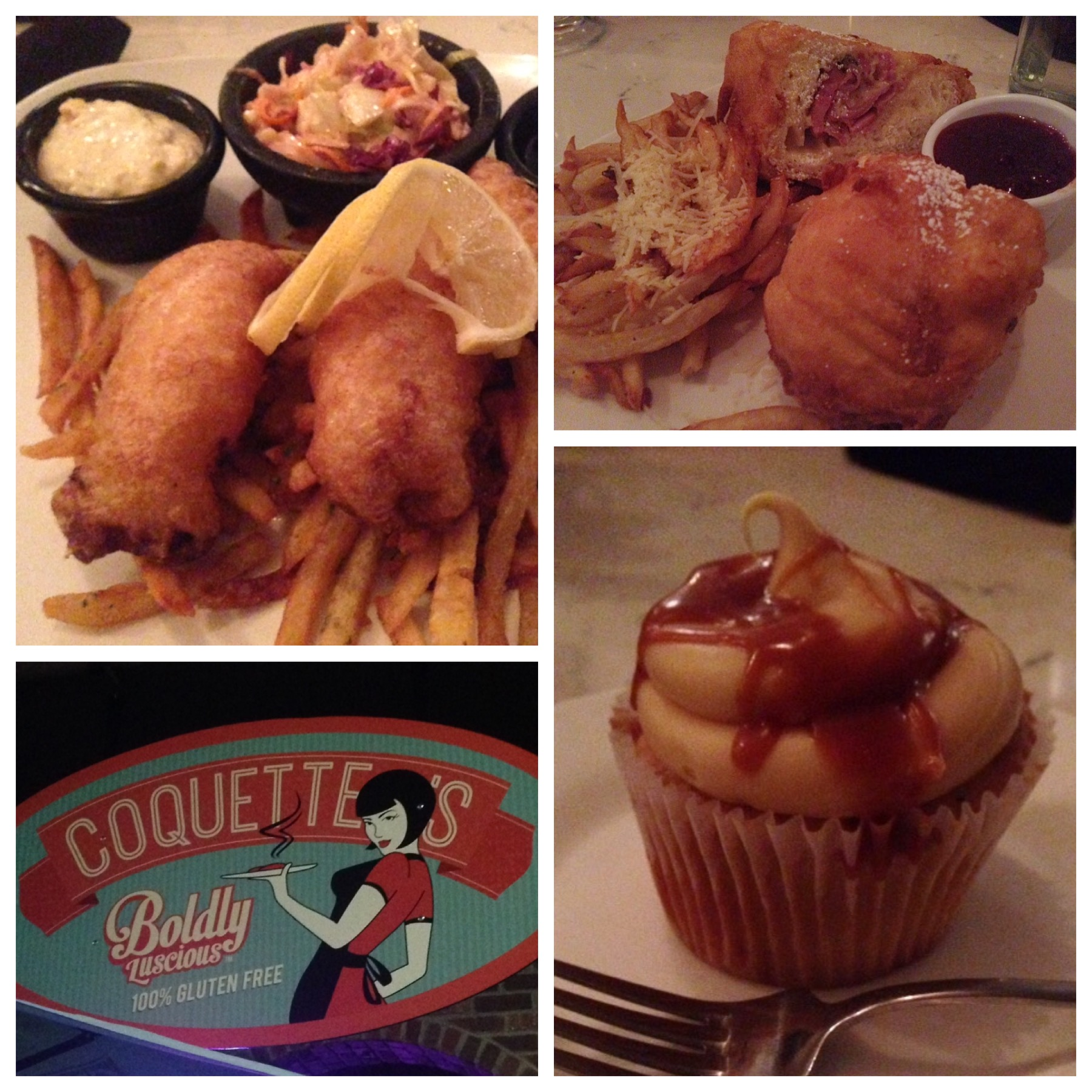 Dinners from Coquette's