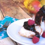 Poached Pears with Raspberry Dark Chocolate