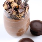 """Peanut"" Butter Cup Protein Chia Pudding 