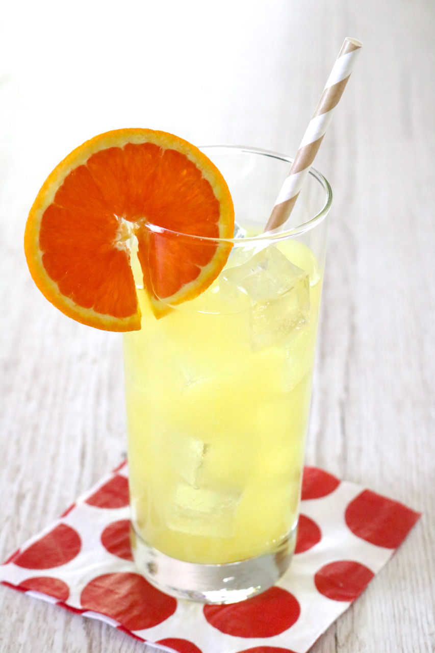 Orange Creamsicle Flavored Sparkling Water   The flavors of an indulgent orange creamsicle infused into sparkling water for a light, refreshing drink.   eatsomethingdelicious.com