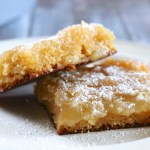 """Dairy Free Gooey Butter Cake   A classic St. Louis dessert made dairy free and gluten free. Yellow cake is covered in a sweet and creamy """"gooey"""" layer with a perfectly flaky top.   eatsomethingdelicious.com"""