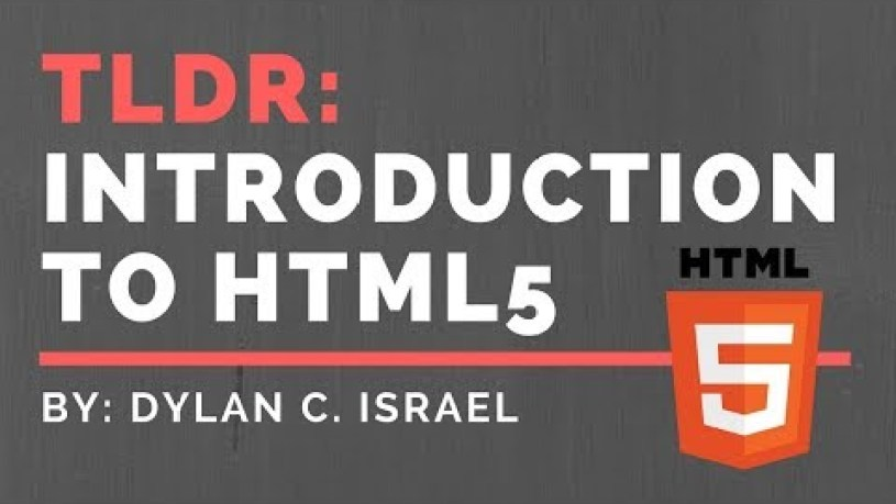 Introduction to HTML  HTML 101   TLDR HTML