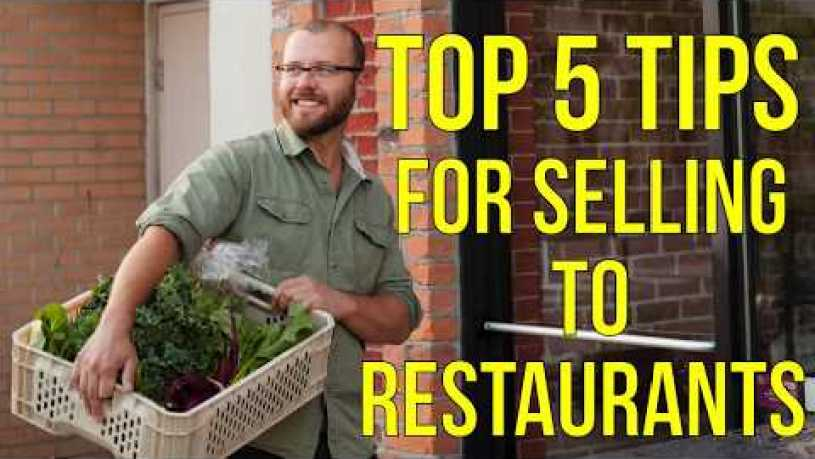 My Top 5 Tips for Selling to Restaurants