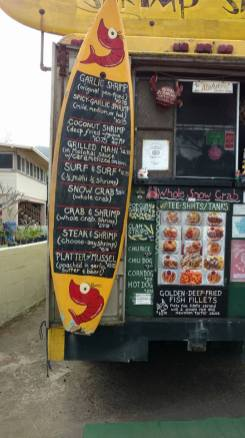 Shrimp Shack - Menu