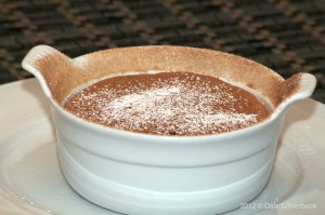 Cinnamon Chocolate Souffle