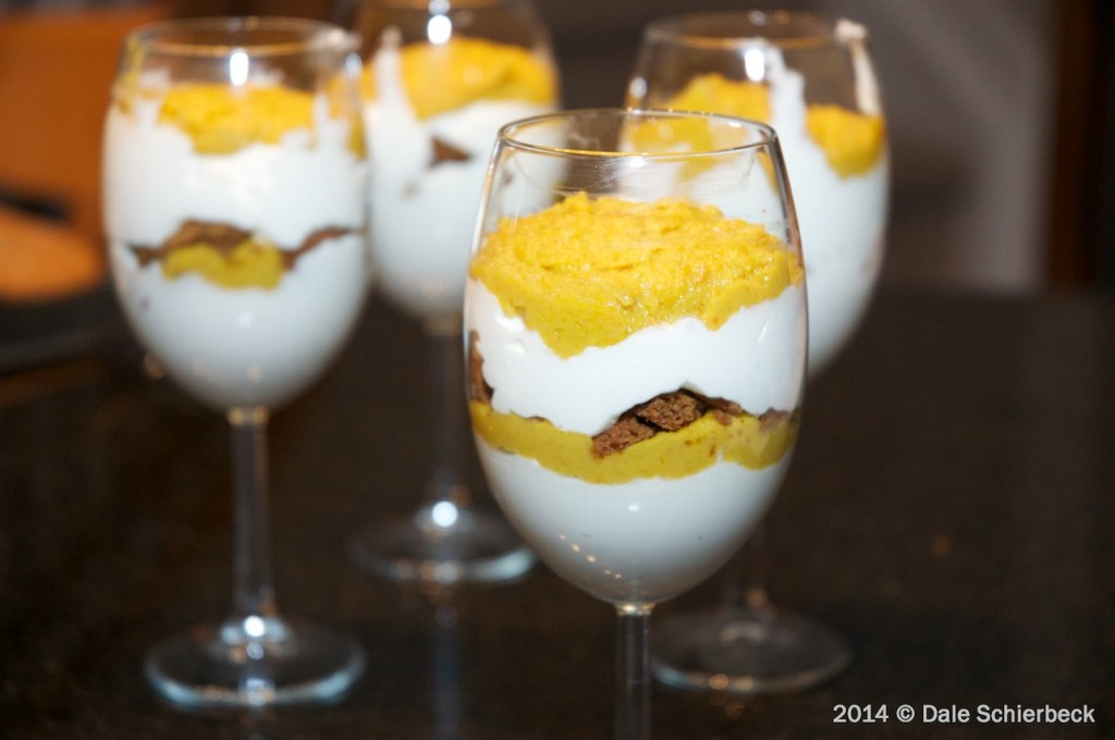 Layered Persimmon Parfaits