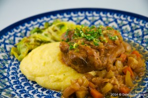 Osso buco Plated