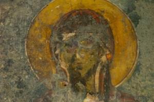 Byzantine Fresco in Lissos, Crete