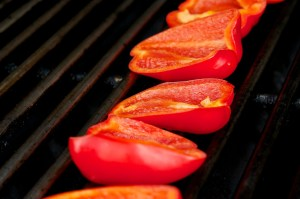 Grill Red Pepper
