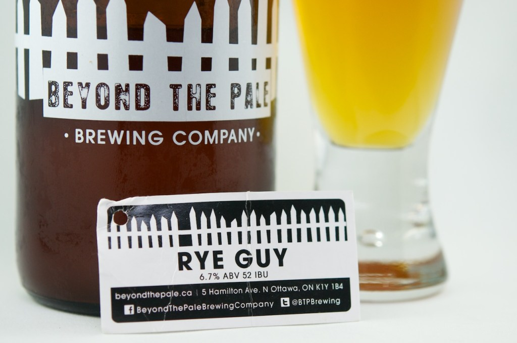 """Rye Guy"" (Rye IPA) Beyond the Pale Brewing Company"