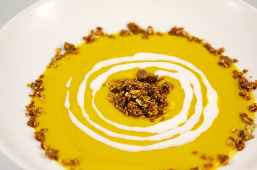 Roasted Butter Nut Squash Soup29
