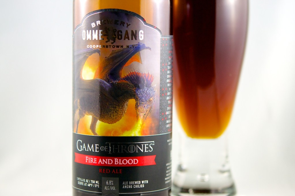 Fire and Blood (Red Ale) Ommegang Brewery