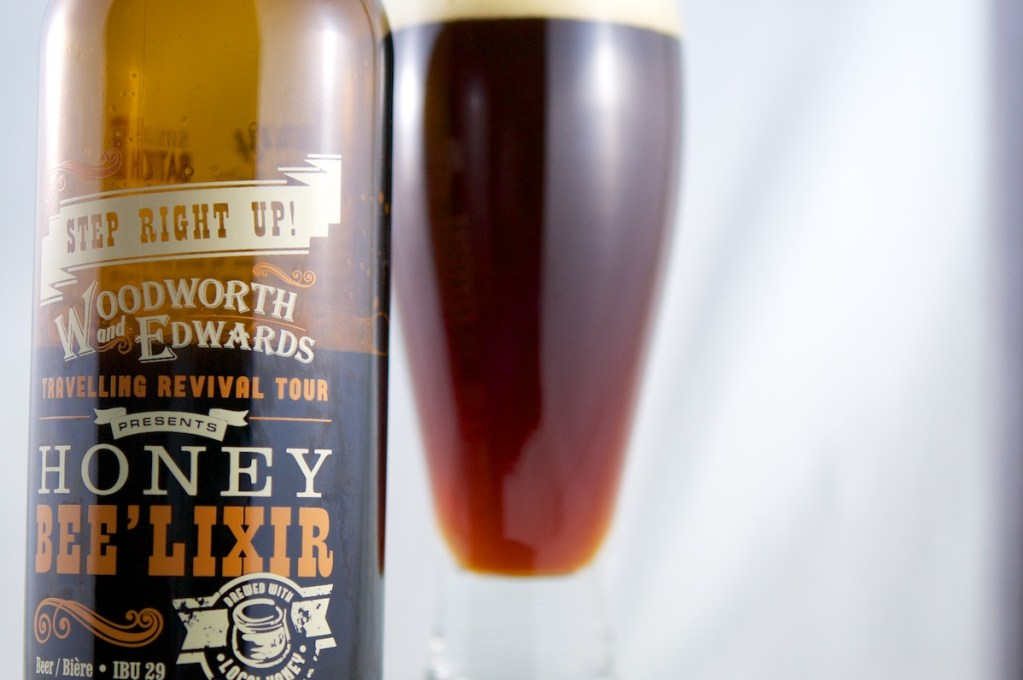 Honey Bee'Lixir (English Ale) Railway City Brewing Company