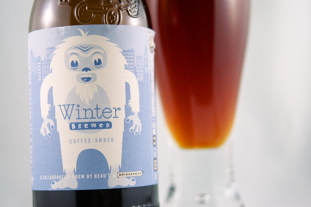 Winter Brewed (Coffee Amber) Beau's All Natural Brewing Co.