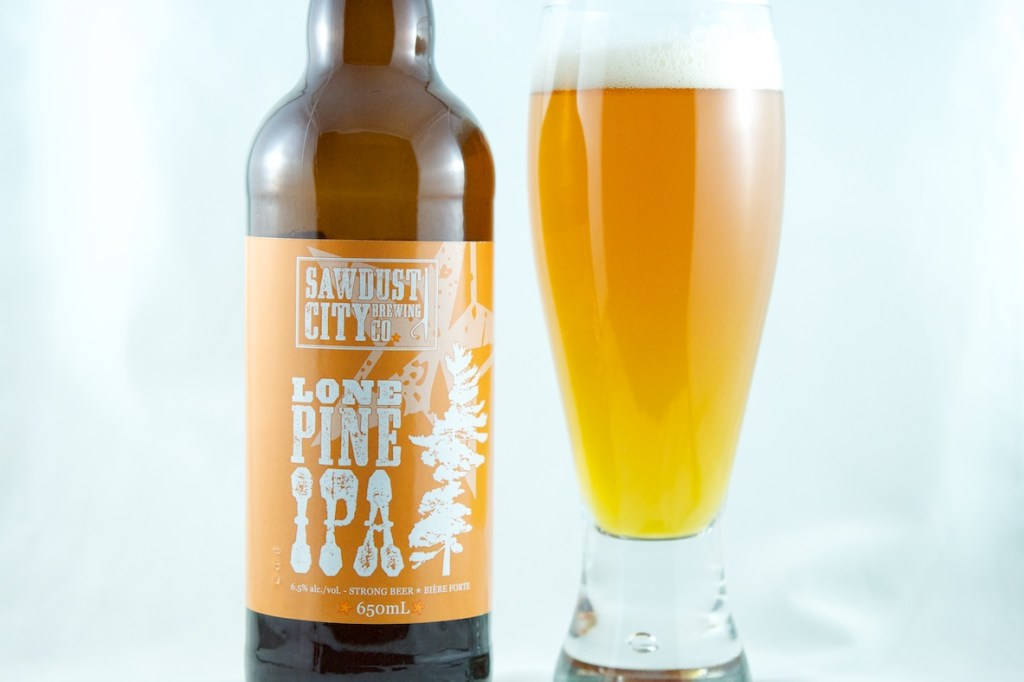 """Lone Pine IPA"" (IPA) Sawdust City Brewing"