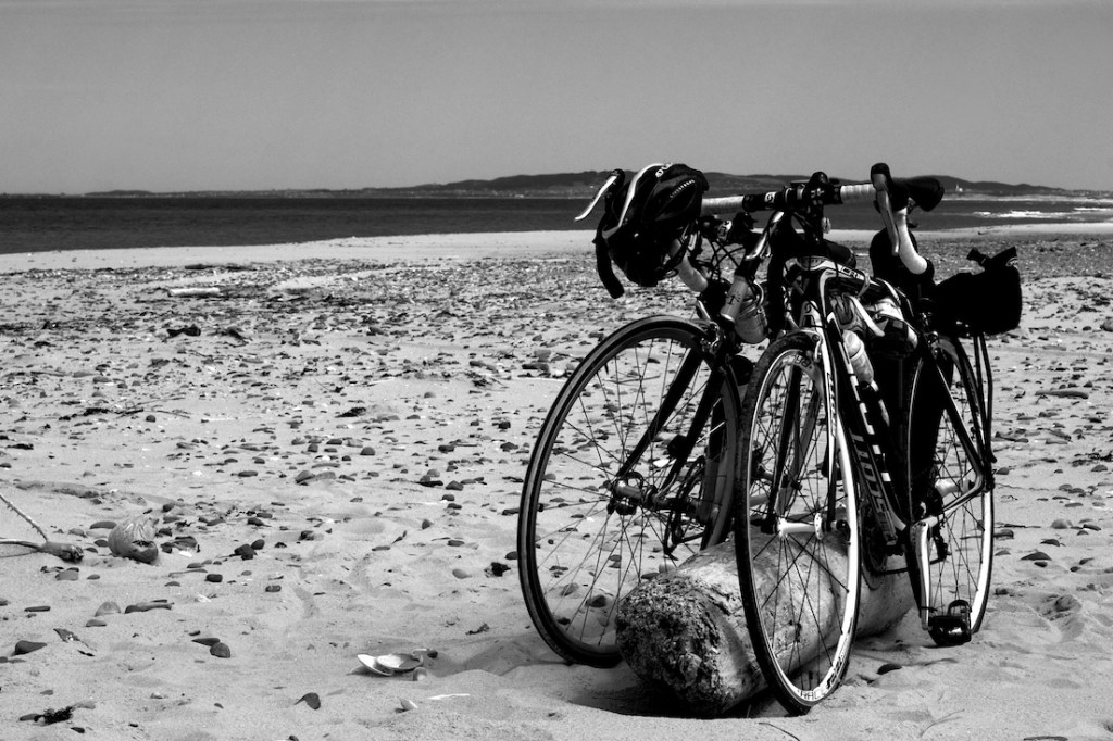 Magdalen Dunes and Two Bikes