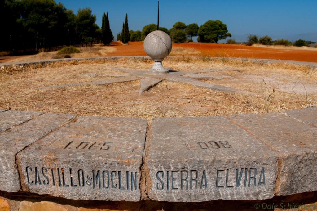 Sundial at Llano de la Perdiz