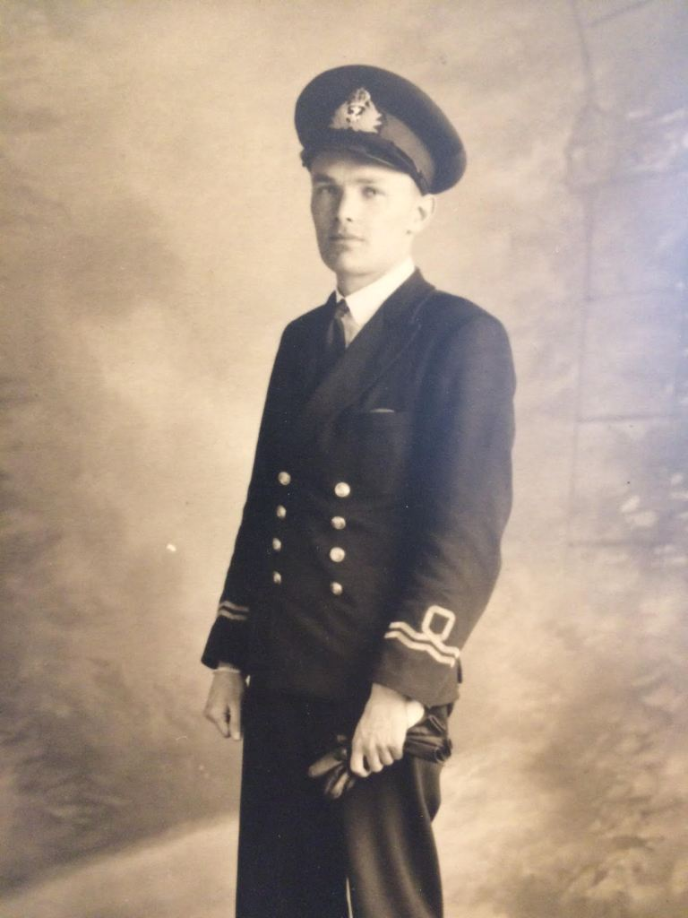 Grandfather in uniform
