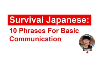 Survival_Japanese (c)EatTalkTravel Japan