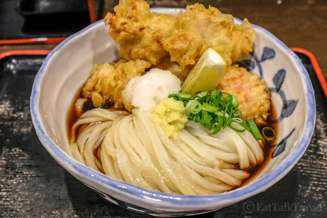 Ramens not the only noodle to try during your two weeks in Japan. Udon noodles are fantastic, too