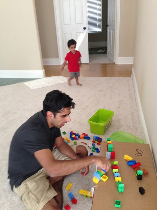 bhaiya play with veer toys