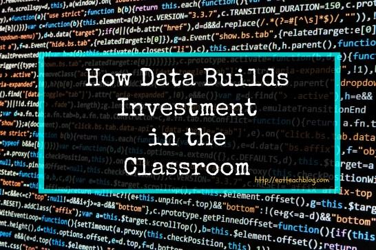 Data Driven Instruction Classroom