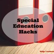 Special Education Organization Hack