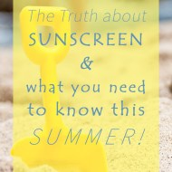 Choosing The Best Sunscreen For Your Skin