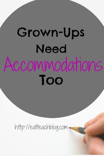 testing accommodations students disabilities