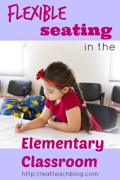 flexible seating elementary classrooms
