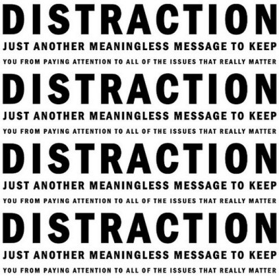 social media as distraction