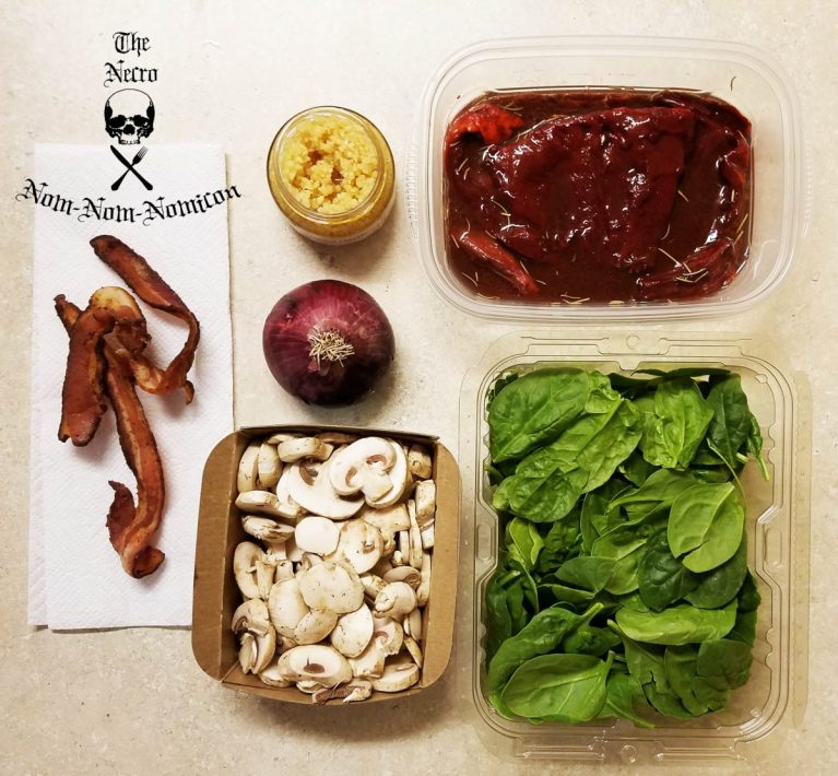ingredients gathered