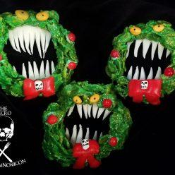 Nightmare Before Christmas Krispy Wreath