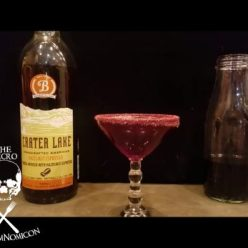 Dead Man's Kiss boozy shot goth drink