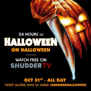 24 hours of Halloween on Shuddertv