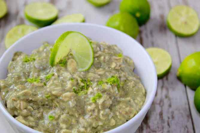 http://eatthegains.com/key-lime-pie-protein-overnight-oats/