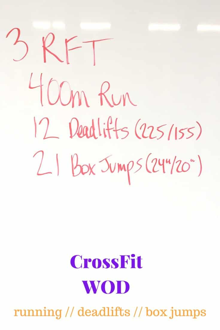 Running, Deadlifts, & Box Jumps