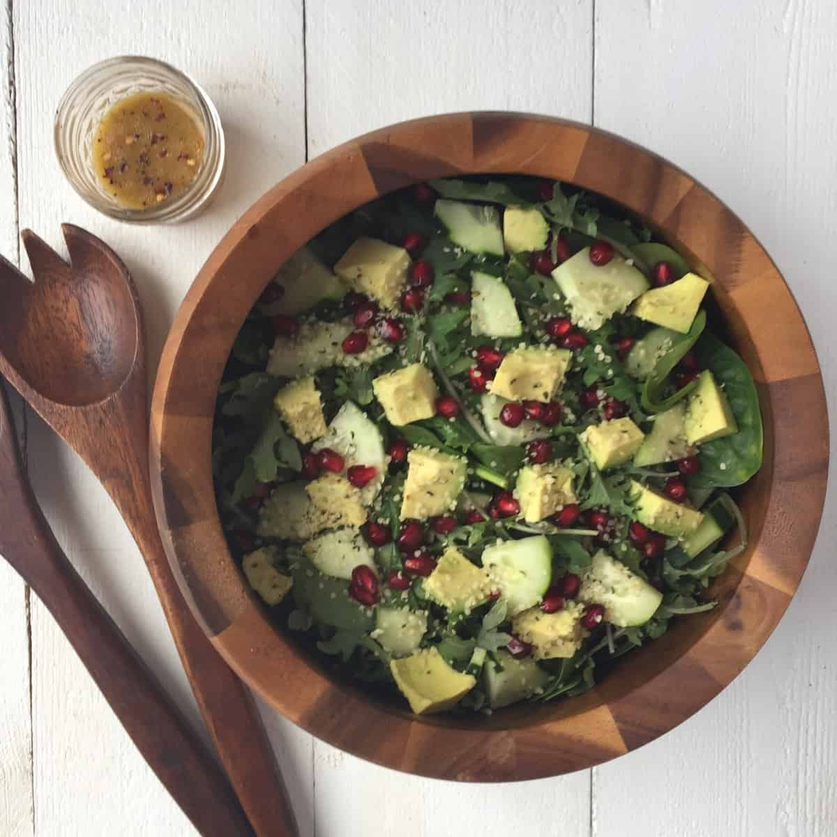 Vegan Holiday Salad