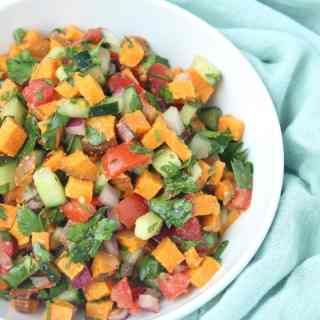 Paleo Sweet Potato Tabouli