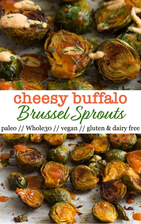 Cheesy Roasted Brussel Sprouts Pinterest Image