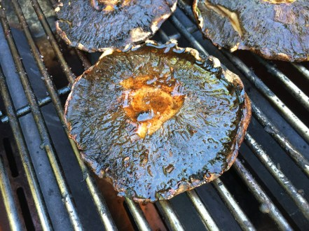 Grilled Portobello Mushroom Steaks Step 2