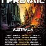 I Prevail are heading to Australia throughout March and April