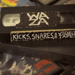 Waza goes on a journey back in time to B-Grade 80's & 90's Cinema in the release of his second mixtape, 'Kicks, Snares & Video Tapes'