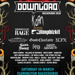 NOFX, Suicidal Tendencies, Korn, Limp Bizkit, Mastodon, Bad Cop/Bad Cop and more front the inaugural Download Festival Melbourne