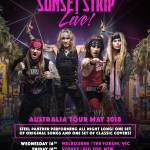 Steel Panther announce Sunset Strip Live! Australian Tour