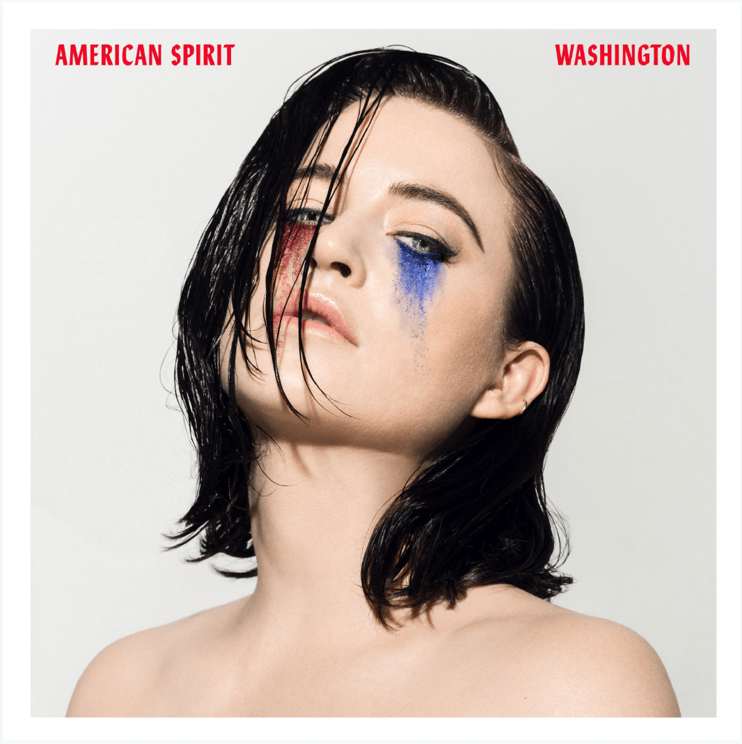 "Washington explores the dark side of trying to make it ""big"" in America in her new single 'American Spirit'"