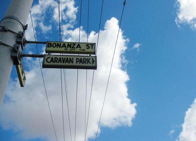 broken hill street signs