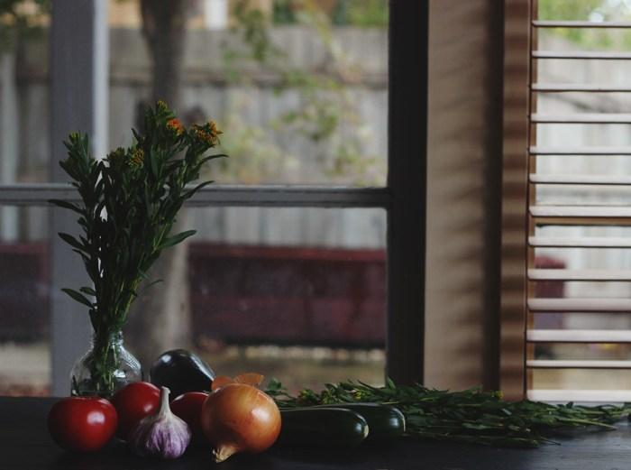 tarragon and vegetables