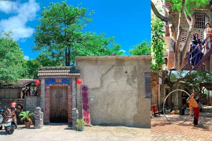 老塘湖藝術村|藝術村創辦人匡乙用二十幾年的歲月加上五千多萬的錢財一磚一瓦慢慢堆砌完成 …
